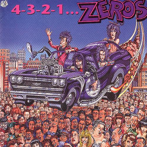 The Zeroes first album, 4-3-2-1 ZEROS