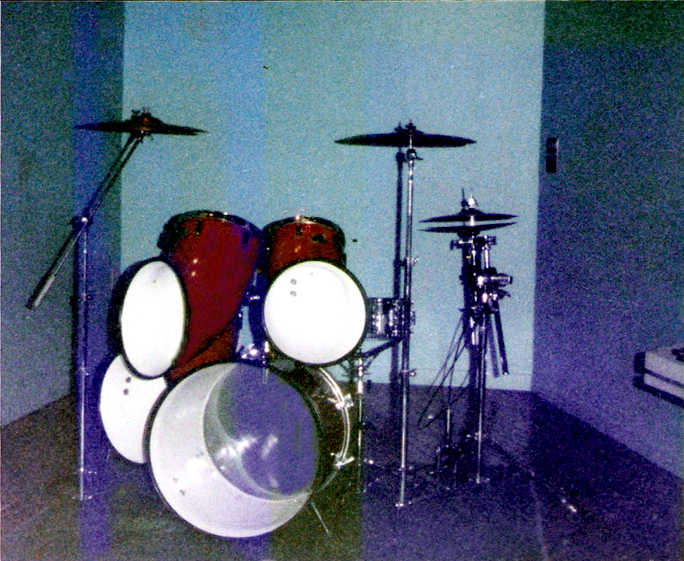 Gerry's North drum kit (hence the name GERRY NORTH)