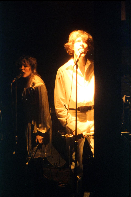 Kim Watts & Patt Connolly.  Parousia – Plant 6, Niagara Street, 1980