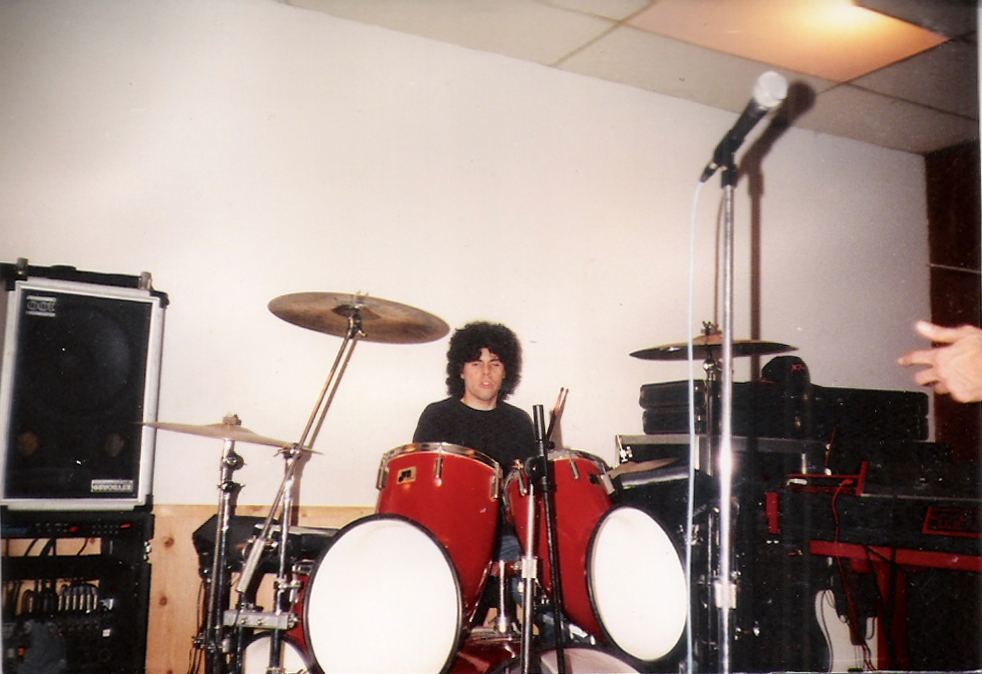 Gerry North Cannizzaro Uncle Rehearsal Studios Dec. 1989