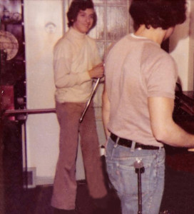 Mike Newell's house Dec 17th 1975  Reheasing for the big Gig at St. Joe's