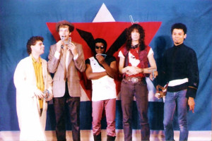 Band shots at Chamber 4 -1986