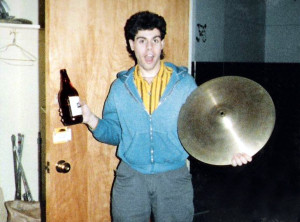 One last party during the move out at Ultimate Storage. Jan 1987