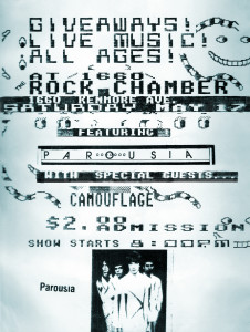 Flyer- the Chamber 05.17.1986