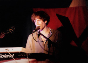 Patt Connolly - Church & State show at the Plant 6, Kenmore - Dec. 1985