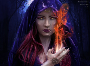 Elven Princess by KarmaWhisper. Courtesey of Deviantart
