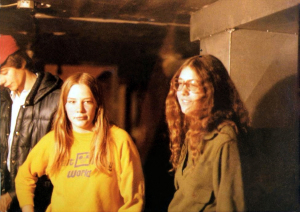 Kim Watts and friend Donna Jan 5th1979