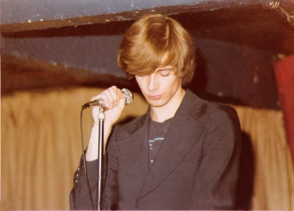 Patt Connolly - Parousia's Front Man 1978