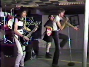 Parousia clip from the 'KEEP RUNNING' video - 1984 - 'C'mon baby open up'..