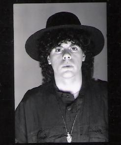Parousia photo studio session 1989