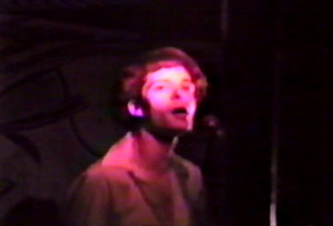Patt Connolly at the Chamber, Exclusive Momentum show April 26, 1986