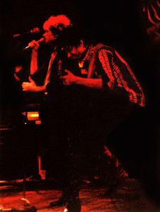 R. Lowden at the Roxy theater, W. Hollywood, CA - June 4, 1989