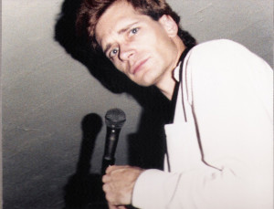 Patt Connolly at rehearsal - Feb 1988 - Tuloarosa Ave, Silver Lake, CA