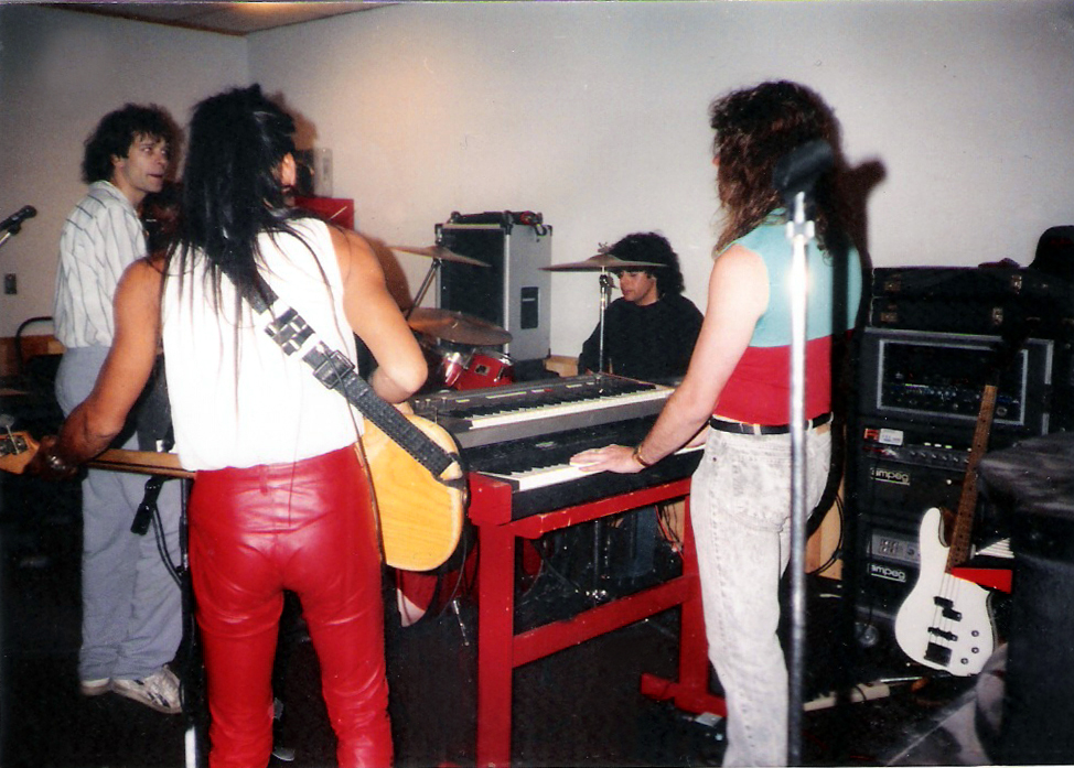 Parousia - Uncle Rehearsal Studios Dec. 1989
