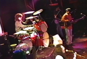"""Gerry North Cannizzaro at the Troubadour, W. Hollywood, CA 10/31/1991 """"Virtual Reality"""" show."""
