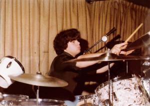 Gerry on the big stage at Mc Van's - Nov. 1978