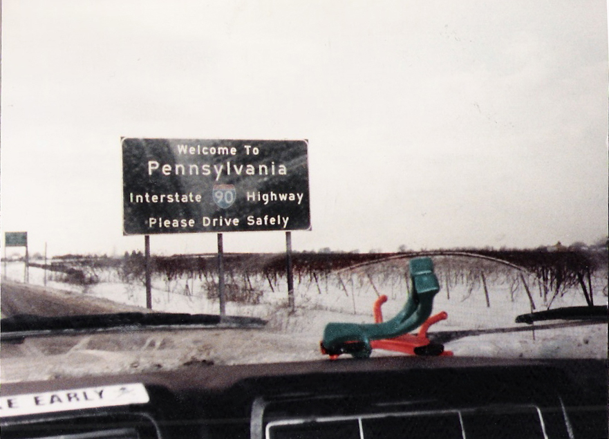 Hello Pennsylvania- Gumby & Pokey celebrate