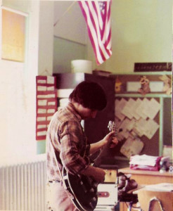 John McGovern Lead Guitarist Audio Engineer & True American 1976