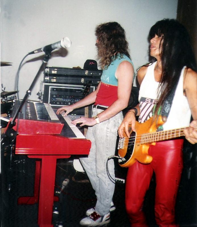 Keyboardist Marty Leggett and bassist Gary Lee