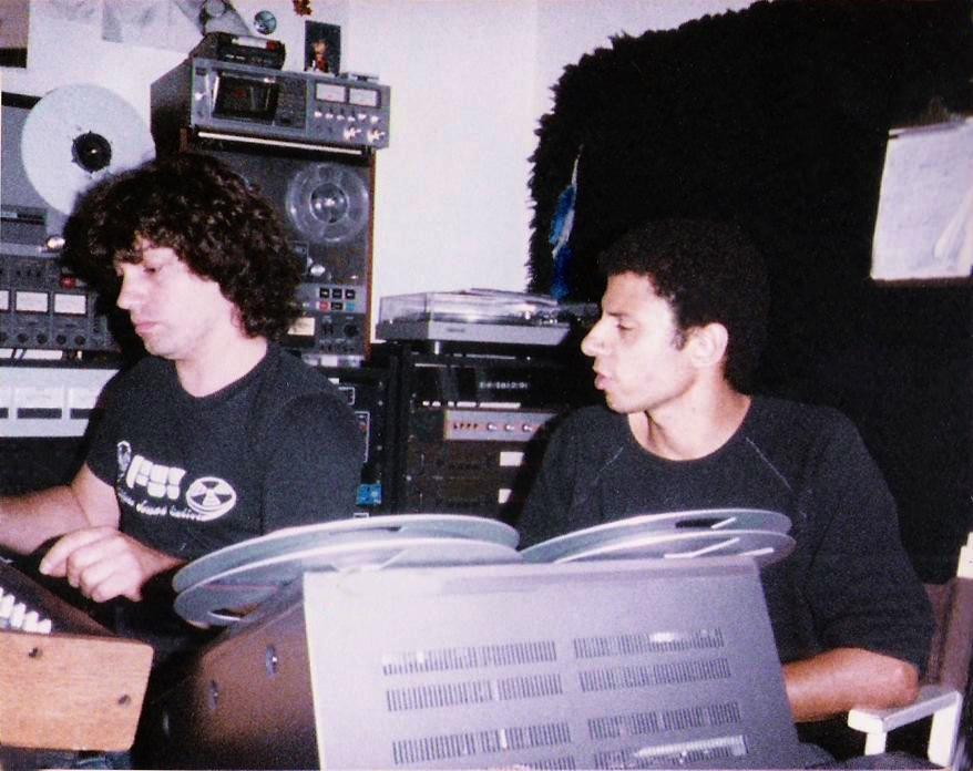 (8) Randy & Bob July- August,1985