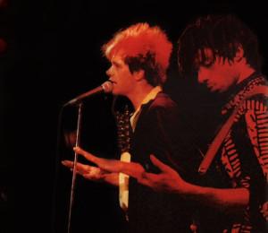 Patt and Bob at The Roxy Theater, W. Hollywood - 06.04.1989
