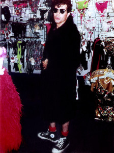 Gerry at Frederics of Hollywood 'When in Rome' - 1992