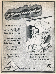 LA Weekely ad - Club  88 - June 24 & July 30, 1988