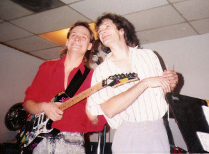 Dec 1989 - Uncle Rehearsal studios with Dudley Taft on guitar