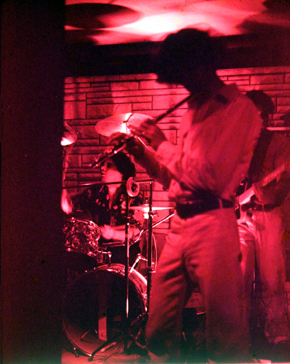 Gerry Cannizzaro, Patt Connolly, Barry Cannizzaro.  Parousia – Plant 6, Niagara Street, 1980