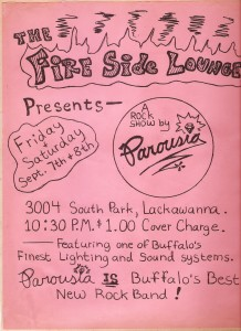 Fireside Lounge, Lackawanna, NY. Sept 7-8, 1979