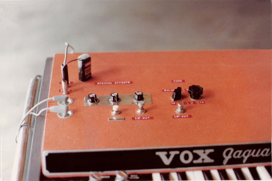 The Vox Jaguar tricked out with special effects