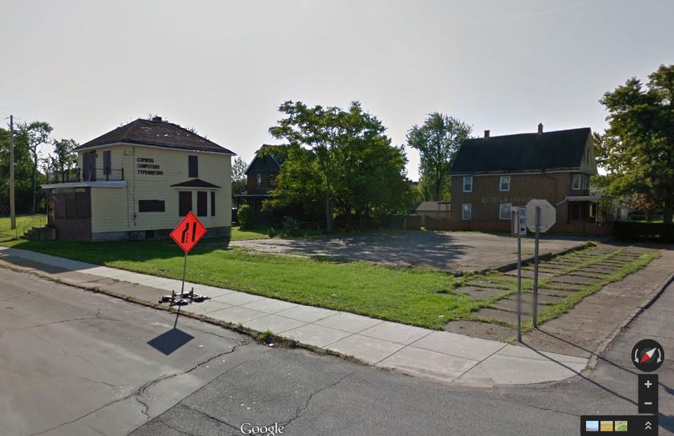 Former location of Shutters & Boards 901 Niagara St. Niagara Falls, NY