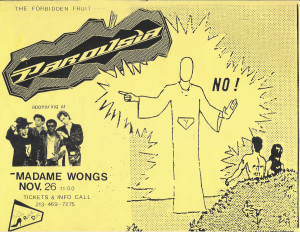 Madame Wongs November 26 1988