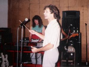 Dec 1989 - Uncle Rehearsal studios Patt Connolly w Marty Leggett