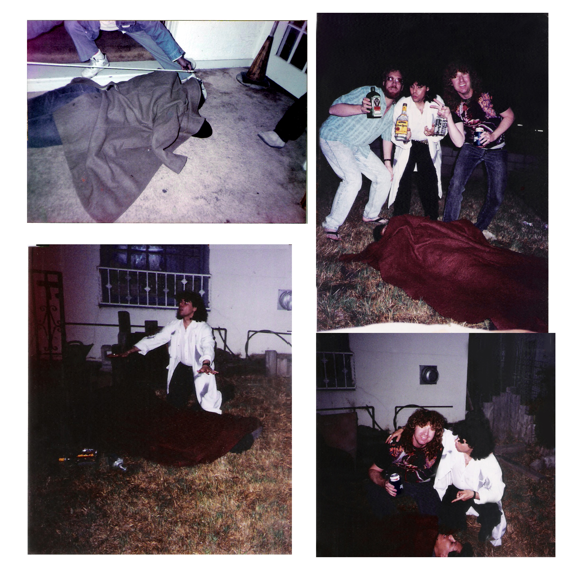 After party Aftermath with Parousia, Hollywood, CA. 1992