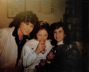 Anne Carncross (left) Sharon (middle) & friend