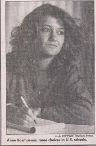 Anne Louise Østrup Rasmussen 1986