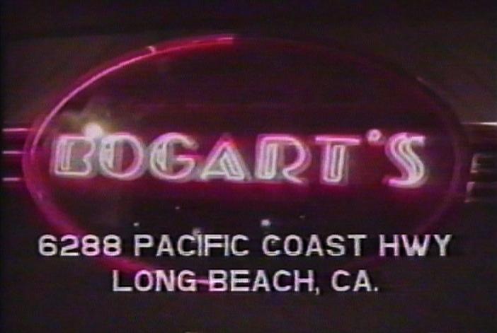 Bogart's Club Marquee