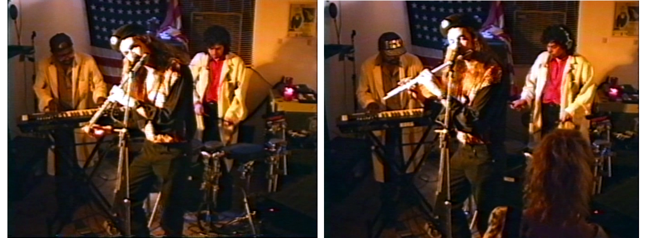 BRAINSTORM live: 1995 record release party with Bill Simms (keyboards/sampling) Gerry Cannizzaro (drums/sampling) & Patt Connolly (flute)