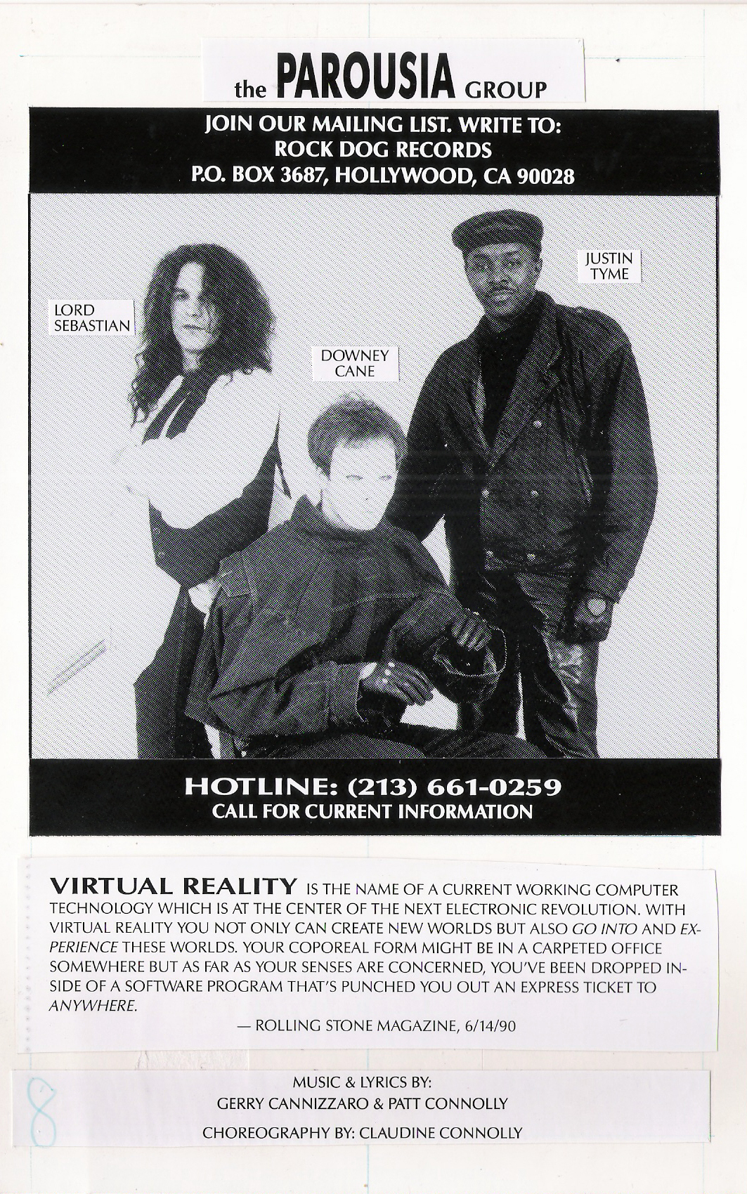 Virtual Reality program - Back cover -Virtual Reality summary