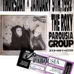 "Bam Magazine Advertisement for Parousia's ""Virtual Reality"" rock play"
