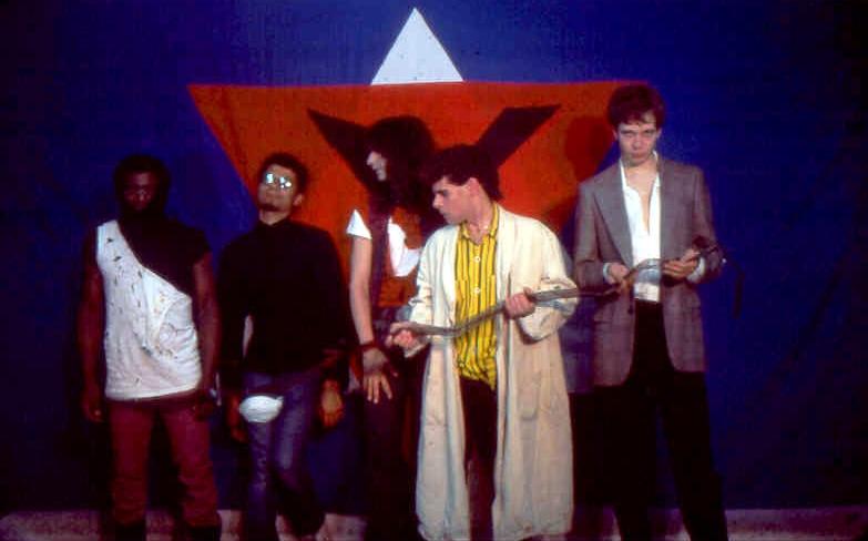 Paousia Band shots at Chamber 2 - 1986