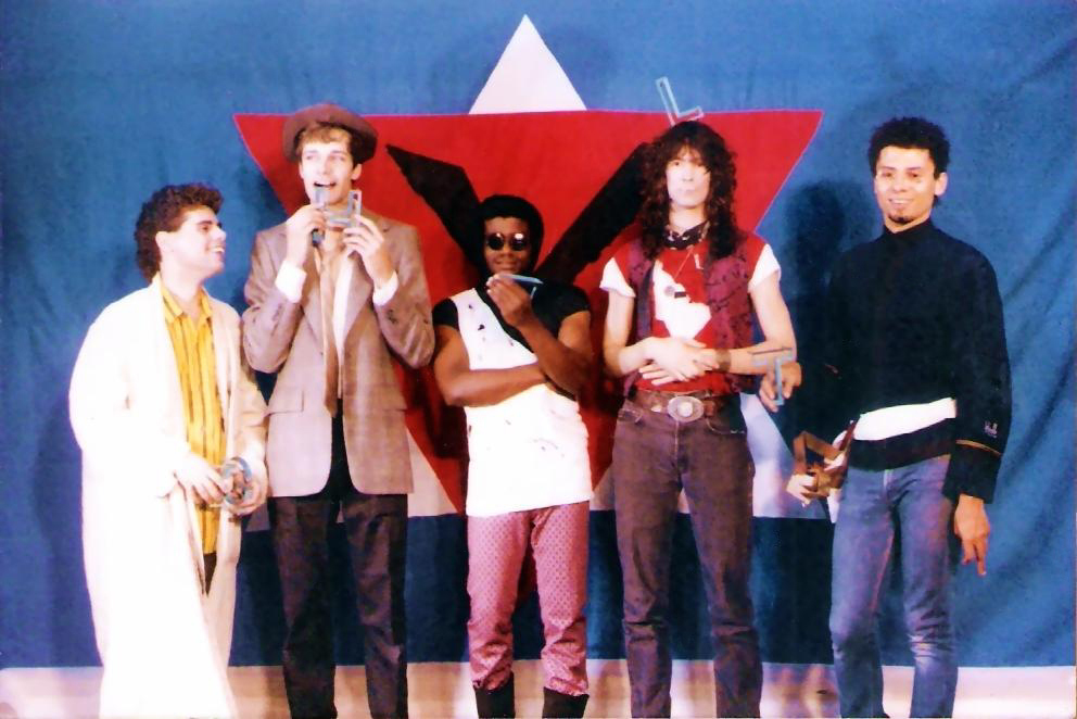 Parousia Band shots at Chamber 4 -1986