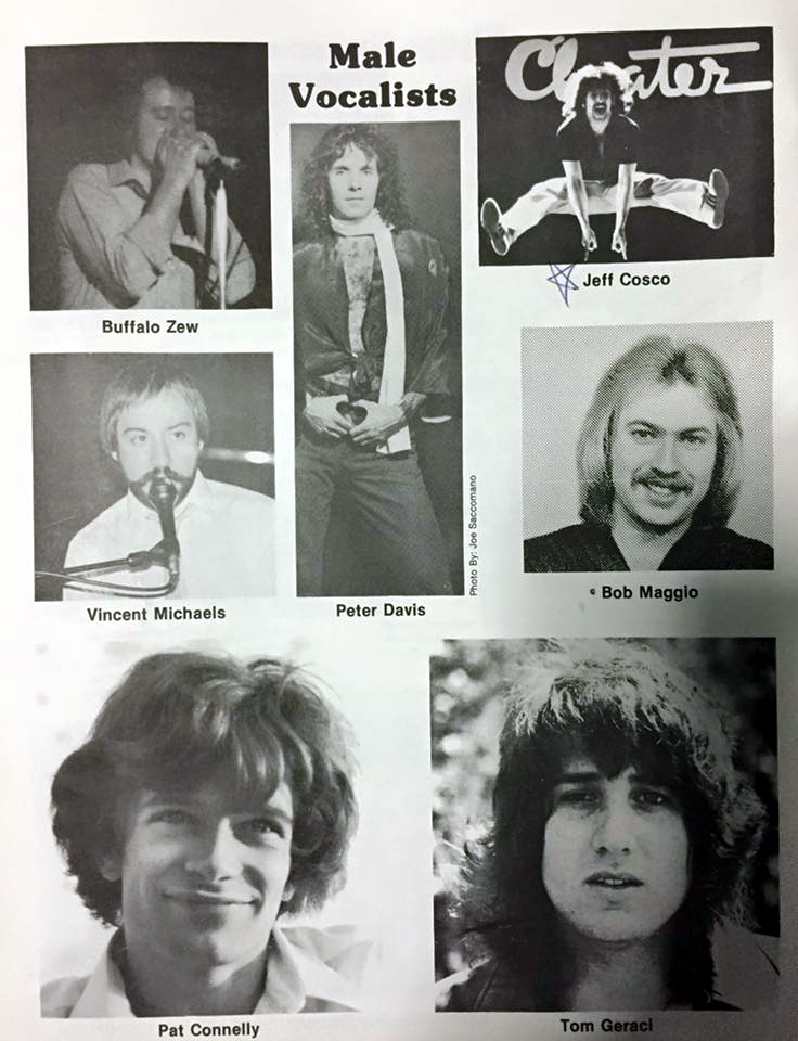 Best Male Vocalist Nominees 1981