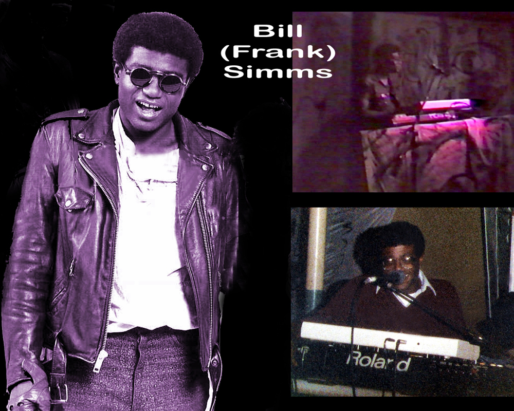 Bill (Frank) Simms – Keyboards, Bass, Stick