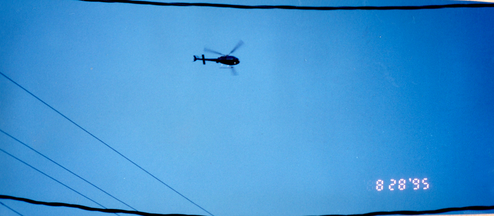 "A black Helicopter circles during the production of Empath's ""ABDUCTION"" album… coincidence?"