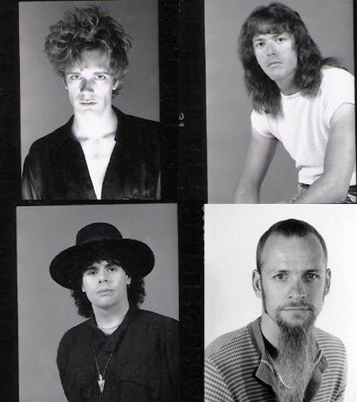 PAROUSIA 1990: Patt Connolly, Marty Leggett, Gerry Cannizzaro and Dudley Taft