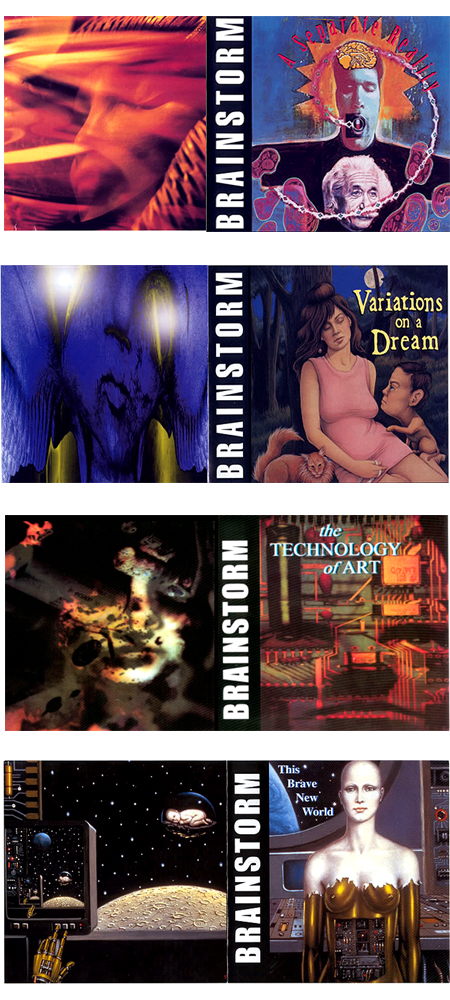 Brainstorm Albums #1-4.