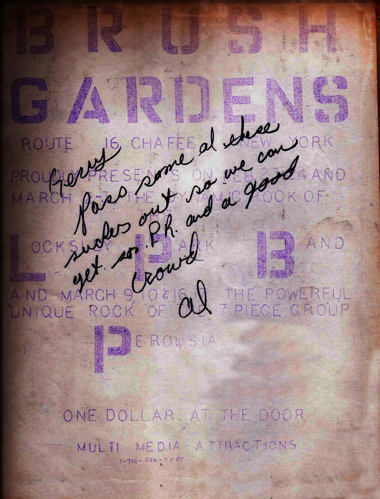 Brush Garden's March 9-10 &16-17, 1979