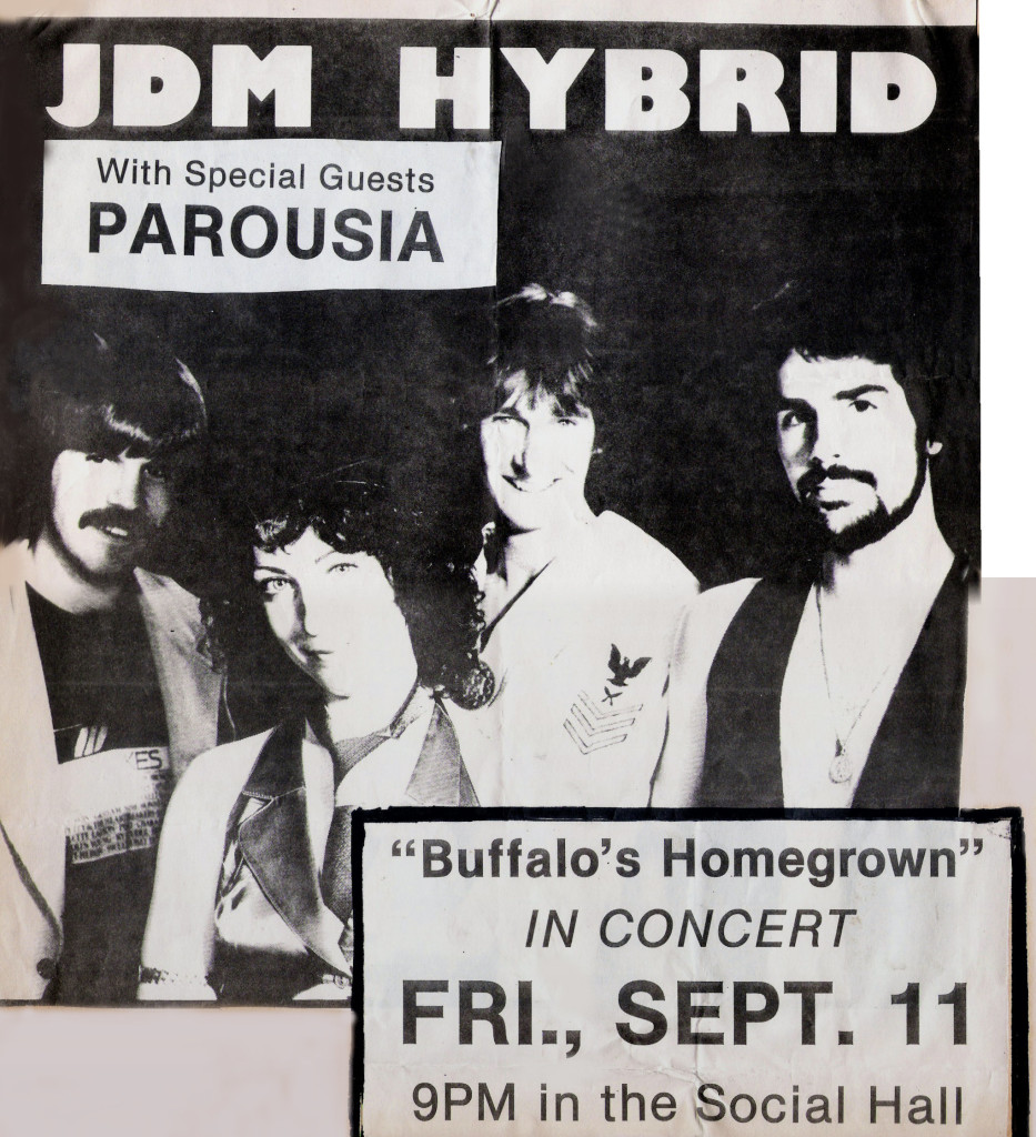 Buff State Social Hall- Fri. Sept. 11th 1981- Flyer